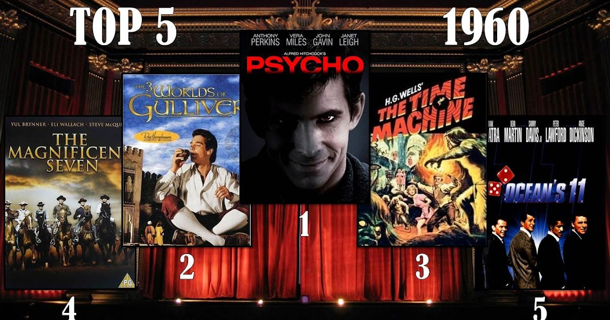 Me, Movies and More: My Top 5 Movies by Year | 1960s