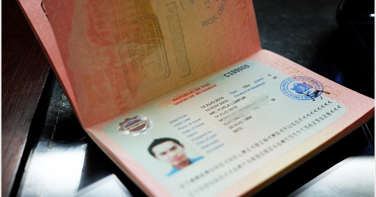 Passport Photograph Requirement for Myanmar e-Visa