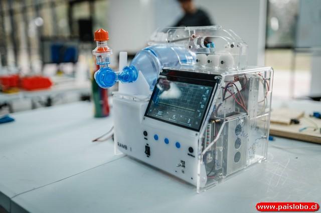 prototipo de ventilador mecánico