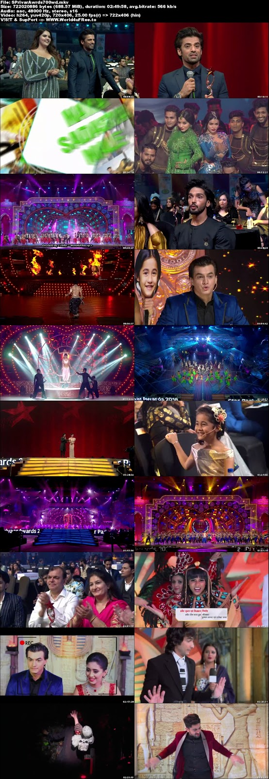 Star Parivaar Awards 2018 Hindi WEBHD 480p 700Mb x264 world4ufree.vip tv show Star Parivaar Awards 2018 Main Event hindi tv show tv show compressed small size free download or watch online at world4ufree.vip