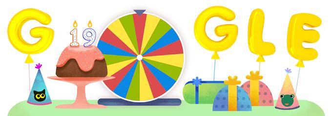 Google பிறந்த நாள் சர்ப்ரைஸ் ஸ்பின்னர்