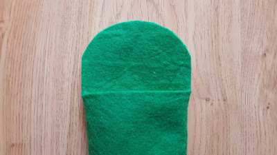 DIY Felt eyeglasses case