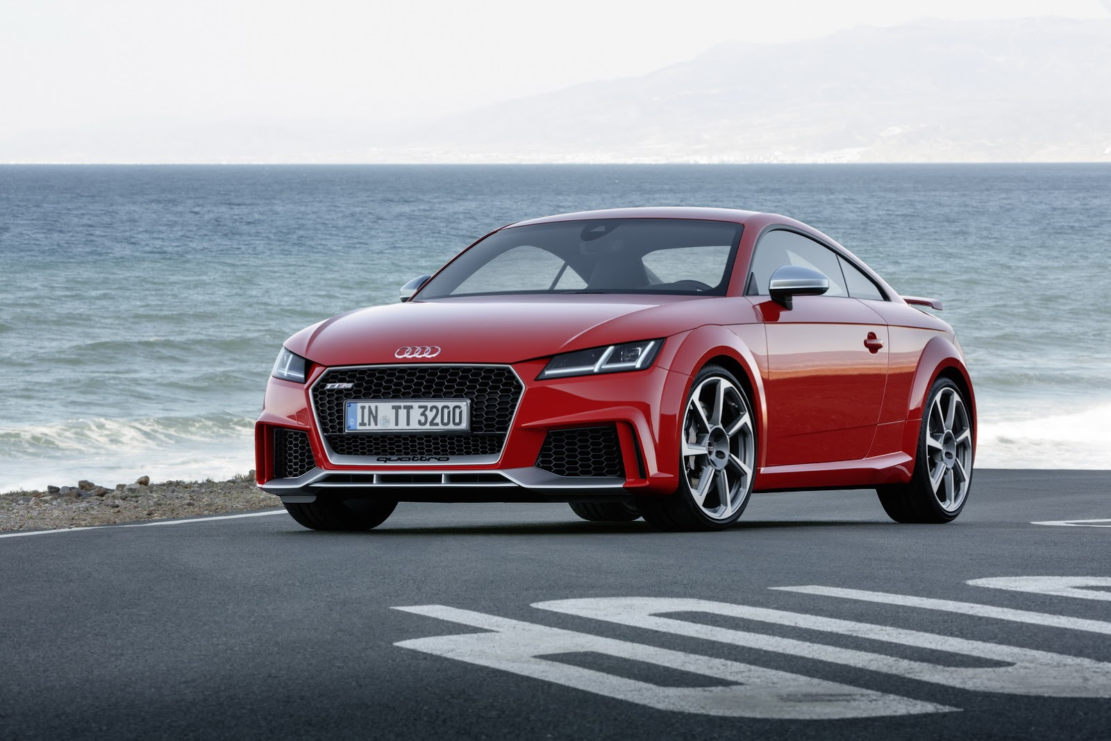 2017 Audi Tt Rs Roadster Amp Coupe Bring Five Cylinders With