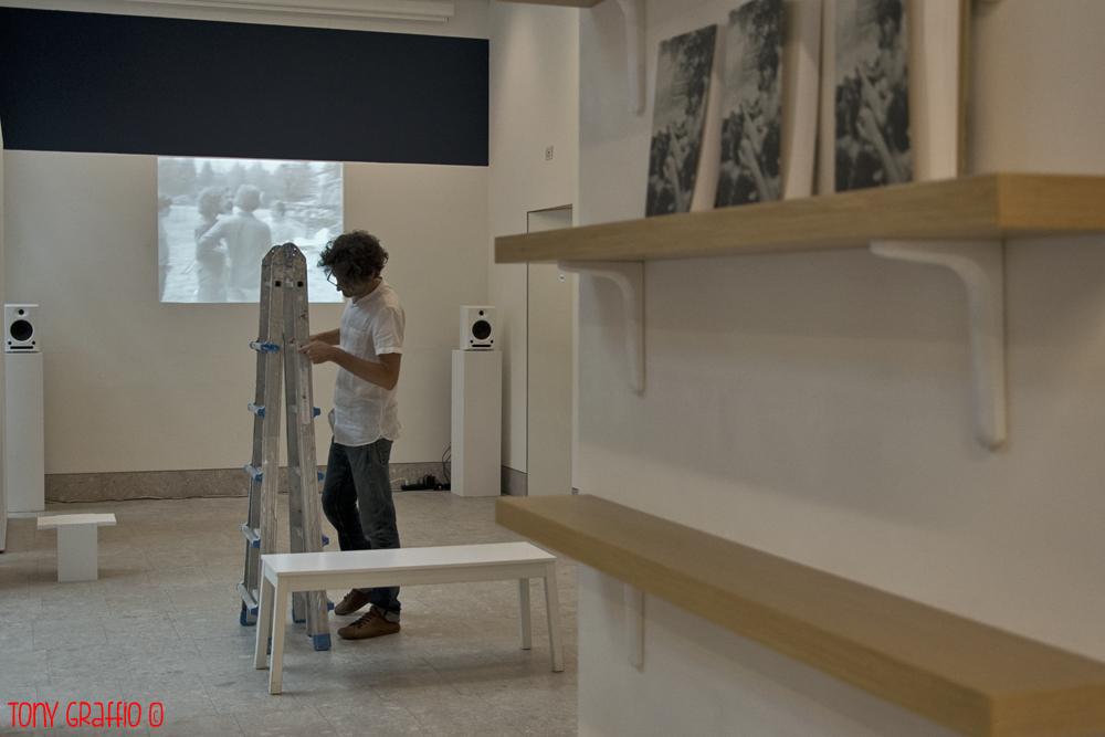 Spazio Forma Meravigli Proiezione video Alberto Grifi