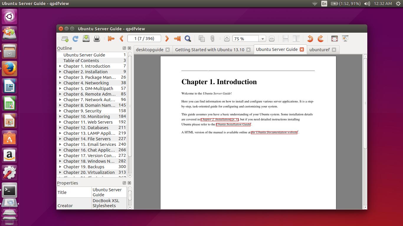 Ubuntu Buzz !: Qpdfview, PDF Multitabbing Viewer for Linux