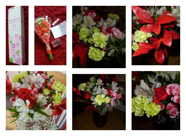 Yorkshire Blog, Mummy Blogging, Parent Blog, Flowers, Bouquet, Happy Christmas Gift Bouquet, Bunches.co.uk, Review,