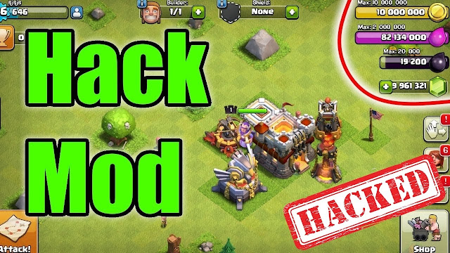 download clash of clans 10.134.6 apk mod - summer update , hacker