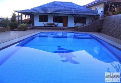 villa murah ada kolam renang