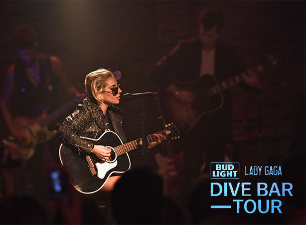 Lady Gaga's Dive Bar Tour in New York City
