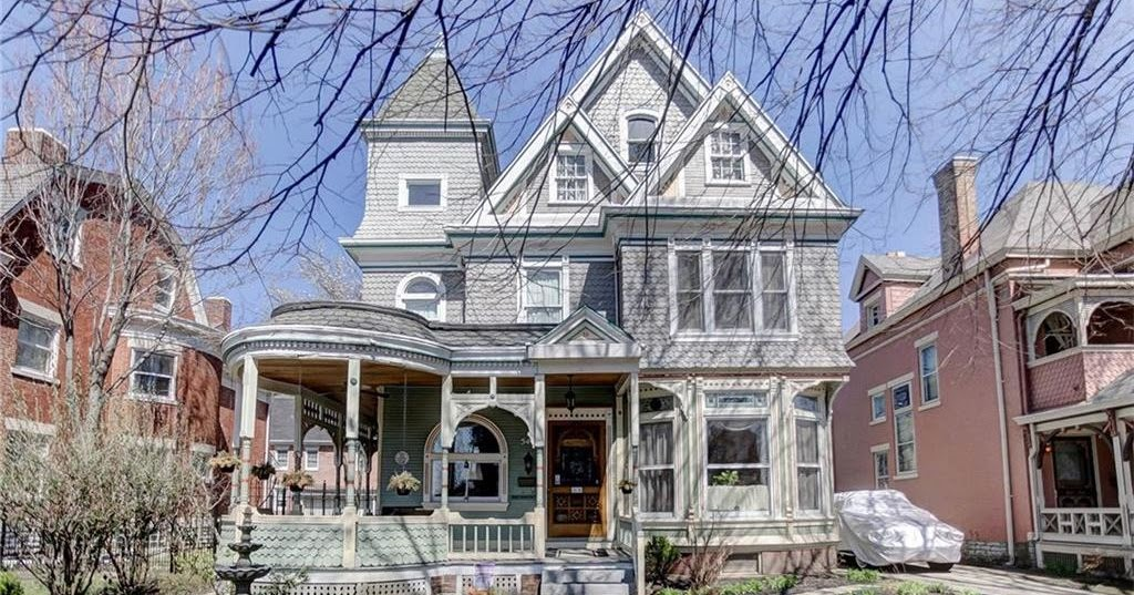 Sweet House Dreams 1885 Queen Anne Victorian In Dayton Ohio
