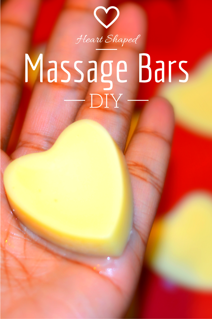 Heart shaped massage bars by Thrifthanista in the city