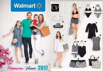 catalogo walmart ropa y zapatos PV 2017