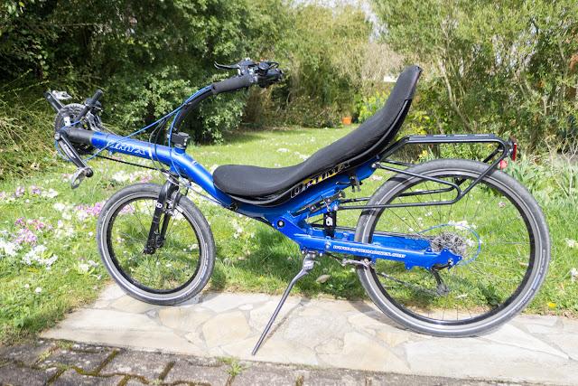 Changement amortisseur vélo couché KS A5-RR1
