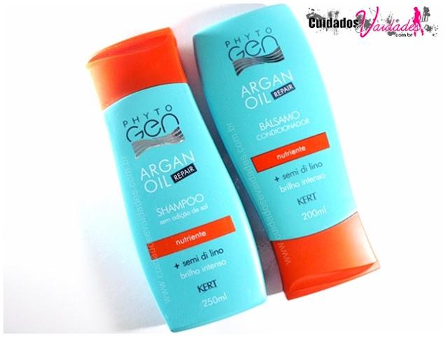 Shampoo e Condicionador Phytogen Argan Oil Kert