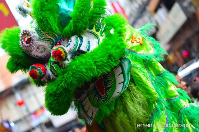 CHINATOWN PHOTOWALK 2016: Green Lion