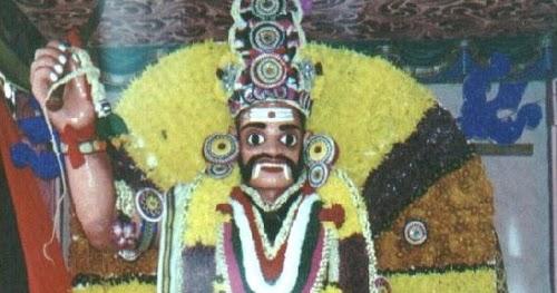 Muneeswarar Muneeswaran Form of Shiva | Hindu Devotional Blog