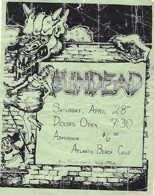 Old Band Flyers - 06 - Atlantic Beach Club - The Undead
