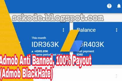 Tips Aman Nuyul Admob, Anti Banned 100% Payout
