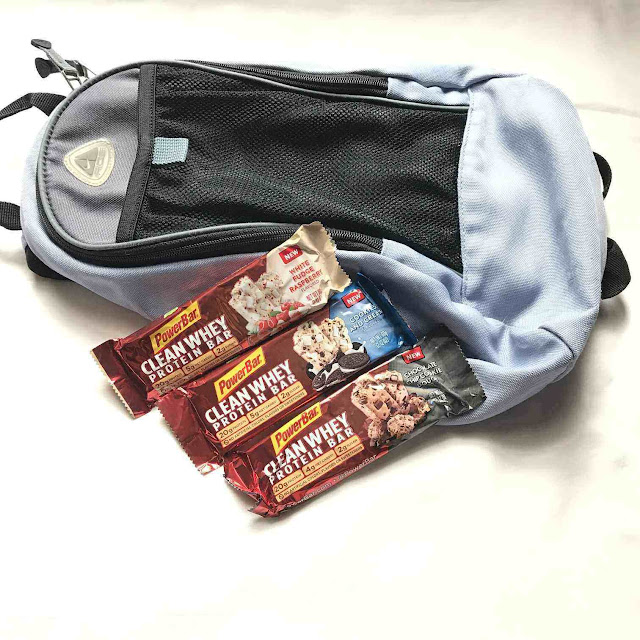 PowerBar Clean Whey Protein Bar Chocolate Chip Cookie Dough White Fudge Raspberry Cookies And Cream Nutrition Portable Product Review