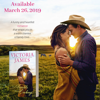 New Release: The Trouble With Cowboys by Victoria James | About That Story