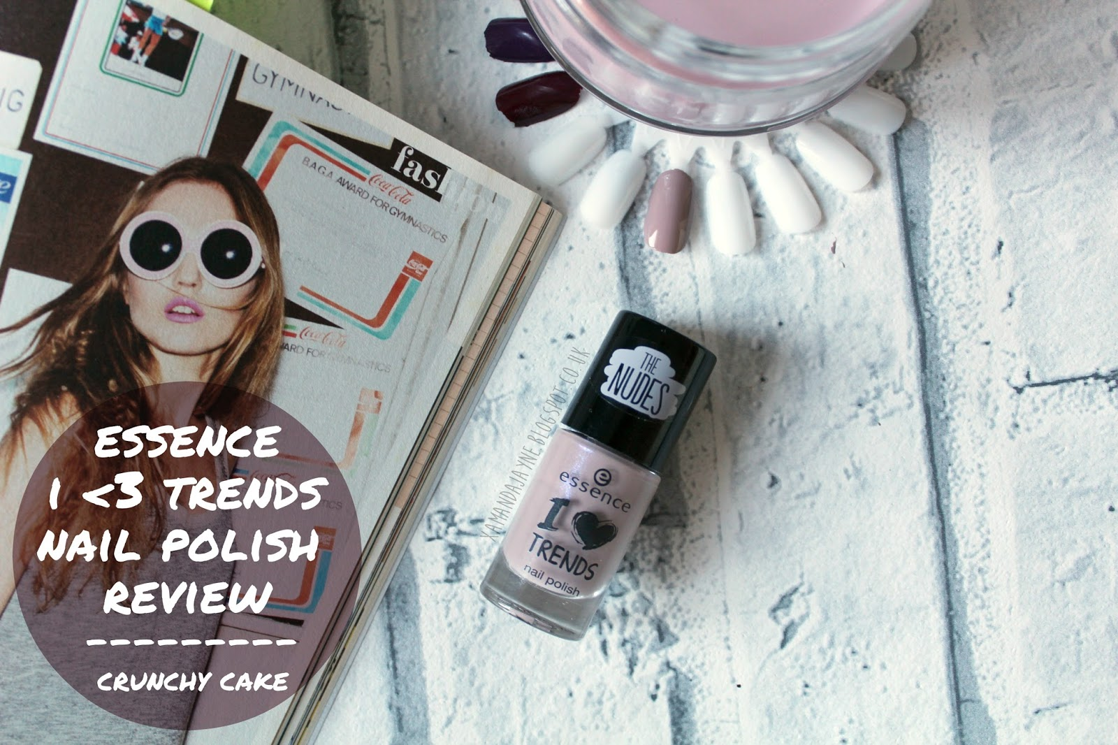 essence, nail varnish, nail polish, i heart trends, the nudes, crunchy cake, review, swatches,