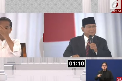 Ingatkan Jokowi, Prabowo: Tidak Boleh Pak Negara Beranggapan Tak Akan Ada Perang