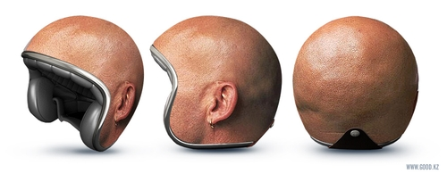 01-Bald-Head-Motorcycle-Helmets-Good