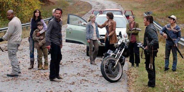 The season two the walking dead finale