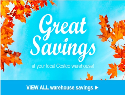 Costco Instant Savings Coupons West AB, BC, SK & MB October 24-November 6