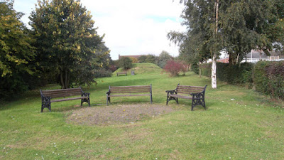 The Millennium Green in Brigg - pictured on Nigel Fisher's Brigg Blog