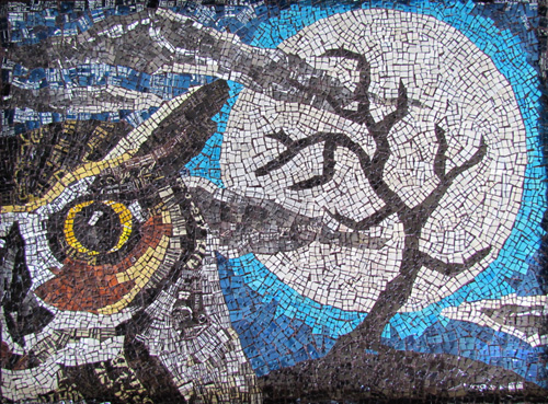 My Owl Barn Collection Owl Mosaic