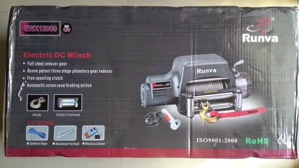 Eletric Winch  Winch12000