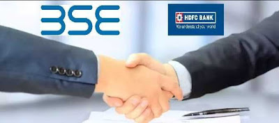 BSE Signed MoU With HDFC Bank