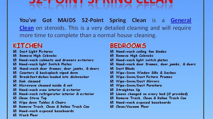 Maid Service - Professional House Cleaning Services