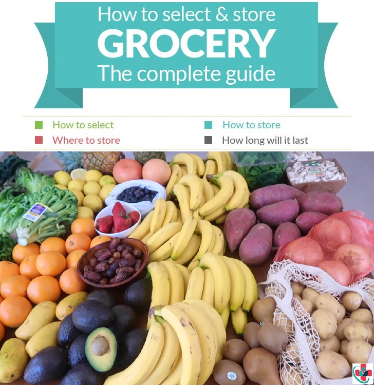Guide to selecting and storing fresh vegetables and fruits (Infographics)