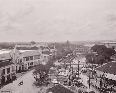 Kali Berok Penghubung Pelabuhan Tanjung Mas Ke Pasar Johar