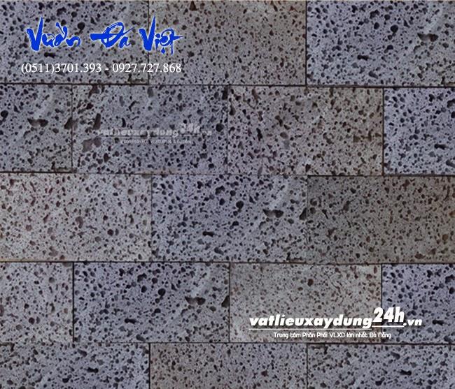 Đá Ong xám 10x20   Đá tự nhiên ốp tường
