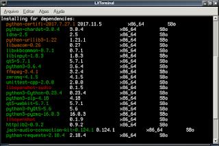 Slackware usando o raciocínio por completo