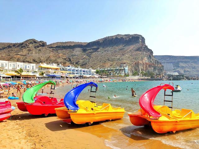 damazprowincji.blogspot.com plaża miasteczko portowe gran canaria, wyspy kanaryjskie