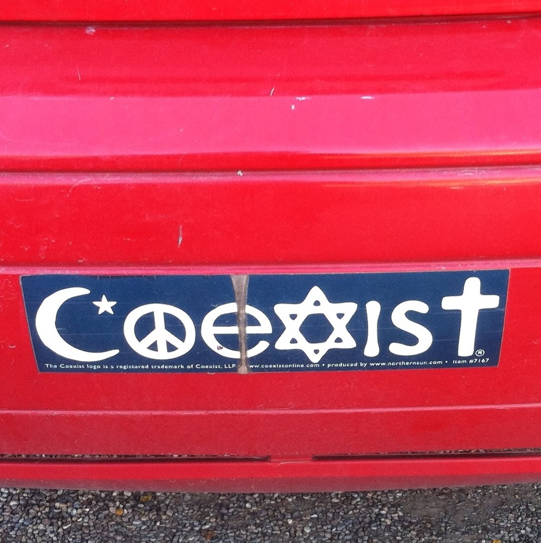 Tucson Daily Photo ~: Pondering the meaning of this bumper sticker