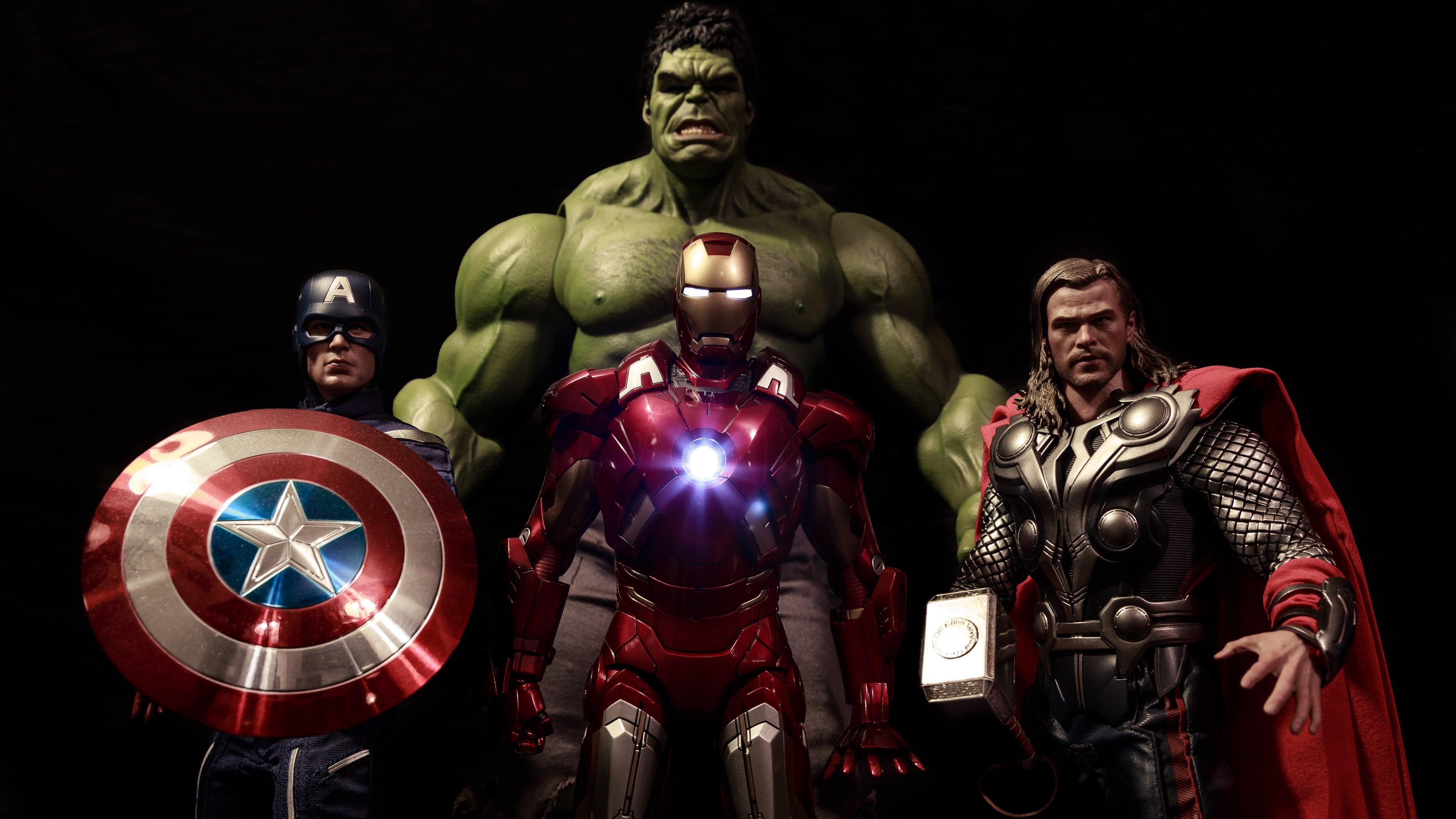 Iron man wolverine captain america amp hulk hd