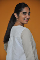 Radhika Cute Young New Actress in White Long Transparent Kurta ~  Exclusive Celebrities Galleries 088.JPG