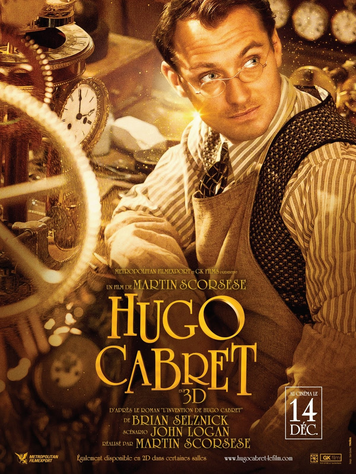 character analysis of hugo cabret in hugo a movie by martin scorsese Helpful resources related to the invention of hugo cabret from with martin scorsese, the director of hugo titular character and isabelle watching a movie.