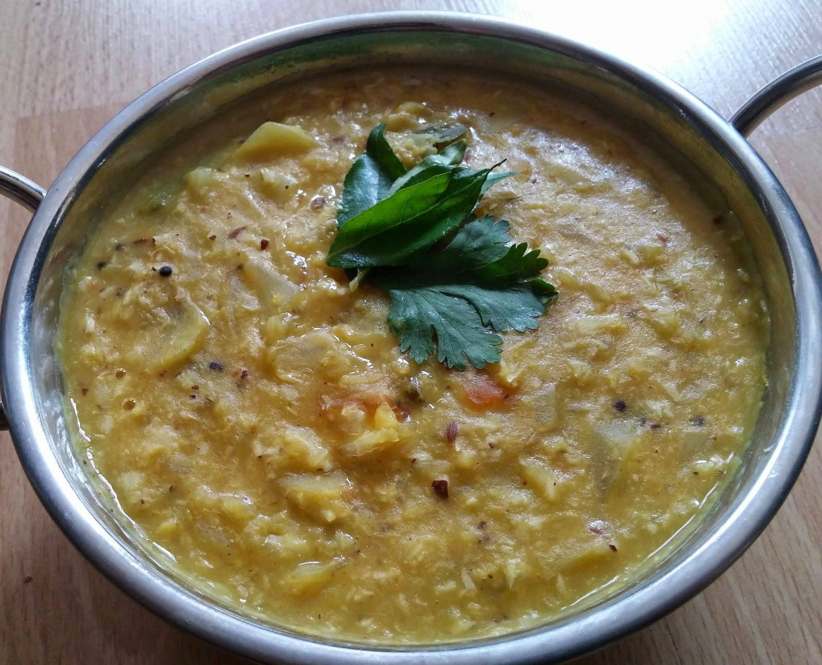 Puzza Dal Water Just For Foodies Simple Cabbage Dal