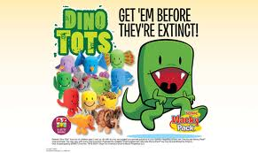 Sonic Wacky Pack Kid Meals Include A Dinotots Toy Through October