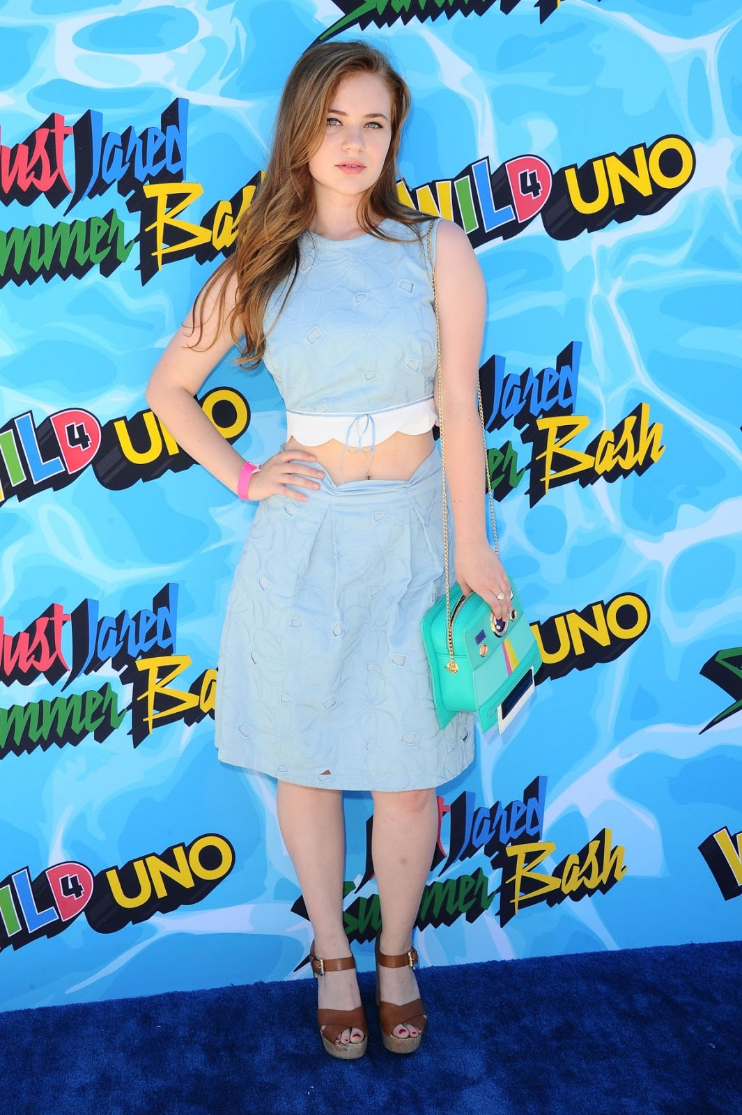 Some Kind of Hate actress Sierra Mccormick at 4th Annual Just Jared Summer Bash, Beverly Hills