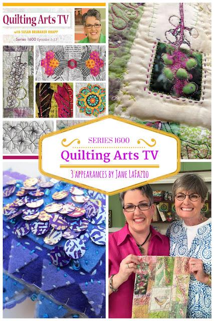 Janeville Quilting Arts Tv Series 1600