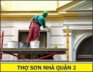 thợ sơn nhà quận 2