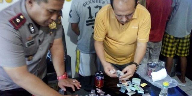 Empat Pengedar Narkoba di Lamteng Ditangkap Polisi Terbanggi Besar