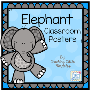 https://www.teacherspayteachers.com/Product/Elephant-Classroom-Posters-2726035